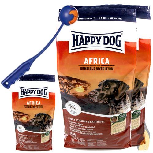 happy dog supreme africa sensible nutrition 2 x 12 5 4 kg shooter ebay. Black Bedroom Furniture Sets. Home Design Ideas