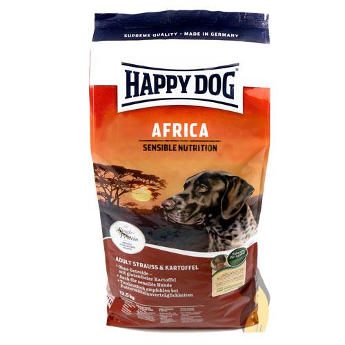 happy dog supreme africa 12 5 kg premium hunde trockenfutter afrika happy dog ebay. Black Bedroom Furniture Sets. Home Design Ideas