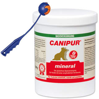Canipur mineral 1000 g + Trixie Shooter
