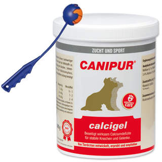Canipur calcigel 1000 g + Trixie Shooter