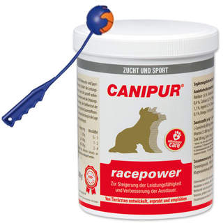Canipur racepower  500 g + Trixie Shooter