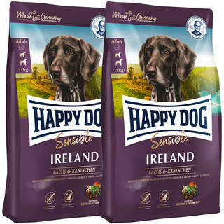 2 x 12,5 kg Happy Dog Supreme Sensible Ireland (Irland)