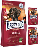 12,5 + 2 x 1 kg Happy Dog Supreme Sensible Africa