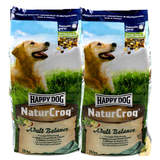 2 x 15 kg Happy Dog NaturCroq Adult Balance