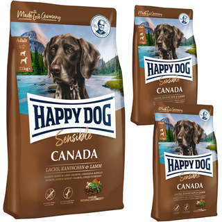 12,5 + 2  x 1 kg Happy Dog Supreme Sensible Canada