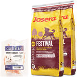 2 x 15 kg Josera Festival + 70 g Canius Hühnerbrust Filet