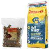 15 kg Josera High Energy + 200 g Canius Lunge