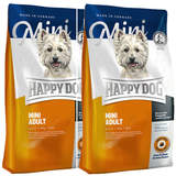 2 x 4 kg Happy Dog Supreme Mini Adult