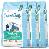 3 x 10 kg Green Petfood InsectDog Sensitive