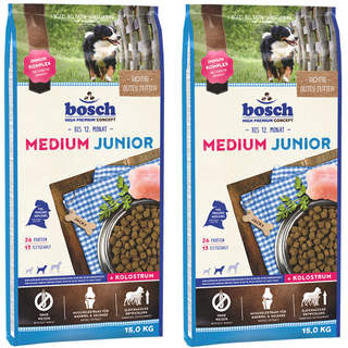 2 x 15 kg Bosch Medium Junior