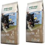 2 x 12,5 kg Bewi Dog Lamb & Rice