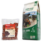 25 kg Bewi Dog Basic Menu + 500 g Canius Nogas Rind
